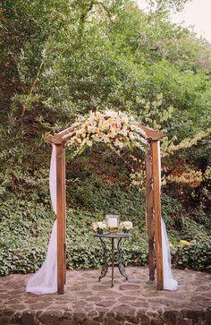 garden ceremony | Courtney Stockton