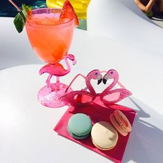 Macaroons, Mingos, and Margs<3