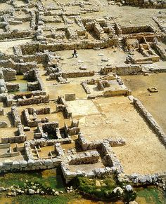 A - Minoan culture, palace of Zakros and annexes Crete - Greece  www.travel-to-crete.com