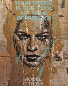 """your desire is the tool of your oppression (model citizen)"" Portrait Art, Pet Portraits, Charcoal Portraits, Political Art, A Level Art, Dream Art, Visual Diary, Gcse Art, Distortion"