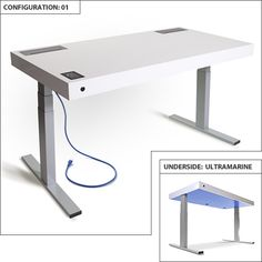 The Stir Kinetic Desk.  For $4K this desk will stand when you stand; sit when you sit.  And they say we all should be standing more - this way you can stand AND keep working !  Awesome!