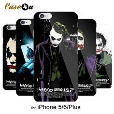 Cool Scary Batman Dark Knight Joker Case Cover For fundas iphone 5 6 Accessories PC Hard Black Cover Capa Why So Serious Iphone 7, Iphone Cases, Batman Dark Knight, Dc World, Why So Serious, Black Cover, Dark Night, Guardians Of The Galaxy