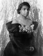 African American Art - Marian Anderson (1897-1993) by Granger