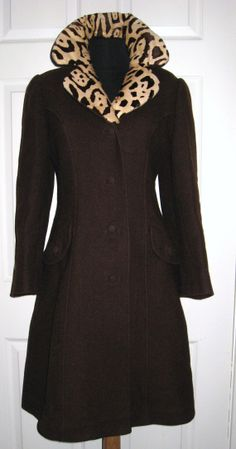 EDWARDIAN REVIVAL Vintage 1930s Brown Wool by CovetedCastoffs, $245.00