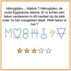 Raadsels Hieroglyfen Brain Breaks, Escape Room, Funny Games, Homeschool, Kids, Scouting, Starters, Box, Young Children