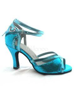 #Milanoo.com Ltd          #Latin Shoes              #Blue #Ankle #Strap #Fish #Print #Woman's #Latin #Shoes                       Blue Ankle Strap Fish Print PU Woman's Latin Shoes                            http://www.snaproduct.com/product.aspx?PID=5694724