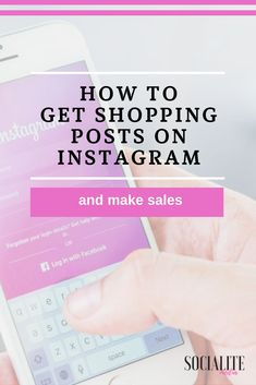 #Instagram is now #selling products via the posts feed! Are your products seamlessly sold in the Instagram app?  This quick guide will help you to set up Instagram shopping on your posts.