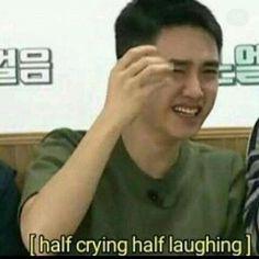 Memy w tymatyce kpop itp # Humor # amreading # books # wattpad Kaisoo, Kyungsoo, Chanyeol, Memes Exo, Funny Kpop Memes, Dankest Memes, Got7 Meme, Stupid Memes, K Pop