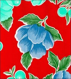 """100% Genuine Oilcloth Durable, Weatherproof, Washable. Simply Wipe Clean With Soapy Sponge! By The Yard - 47"""" wide - $8.00 By The Roll - 47"""" wide - $70.00 (12 Yards per Roll - $5.83 per Yard!)"""