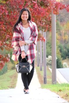 Pastel N Pink: How to style a blanket scarf