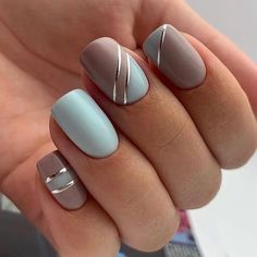 Latest Nail Designs, Classy Nail Designs, Short Nail Designs, Acrylic Nail Designs, Nail Art Designs, Chic Nails, Classy Nails, Fancy Nails, Stylish Nails