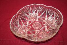 Small Glass Bowl Antique Vintage