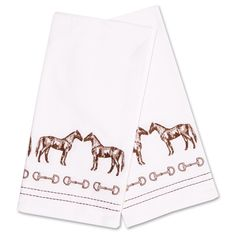 Trotting Horse Tapestry Placemat Set//4