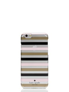 watch hill stripe clear iphone 6 case - kate spade new york