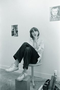 Film director Christine Pascal/adidas stan smiths 1978