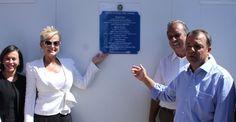 Xuxa inaugura colégio com nome de Hebe Camargo no Rio de Janeiro