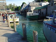 Travel | Michigan | Small Towns | Fishing Towns | Villages | Seafood | Boating | History | Charming
