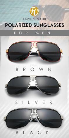 0de37be5814 HDcrafter Pilot UV400 shield polarized Sunglasses - Limited edition Men s  affordable top brand designer style fashion