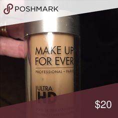 Makeup Forever Foundation #Y245 Bought this last year. Used only a few times. Not my color. Their website has color chart. It's 120 =Y245 called Soft Sand. Makeup Forever Makeup Foundation
