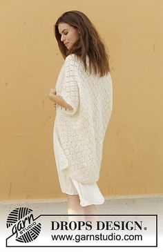 Ravelry: 187-27 Comfort Wrap pattern by DROPS design
