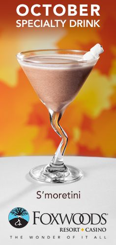 ... you give it a try? #Smoretini #Cocktail #October #ImCravingFoxwoods
