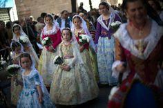 Las Fallas festival welcomes spring to Valencia, Spain