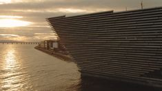 V&A Dundee drone filming - November 2017