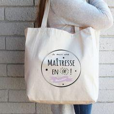 Autres Genteel Sac Shopping Cabas Paris Personnalisé Avec Prénom