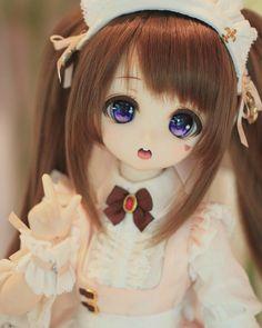 Pretty Dolls, Cute Dolls, Anime Figures, Anime Characters, Anime Drawing Styles, Kawaii Doll, Smart Doll, Anime Dolls, New Dolls