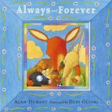 """Always And Forever, Alan Durant (Ned. titel: """"Een vriend voor altijd"""", niet meer te koop, maar te vinden in de bib)"""