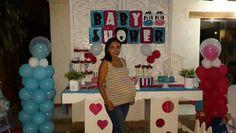 Baby shower de mis mellizos Isabella y Augusto...todo elaborado con mucho amor para mis ternuritas...