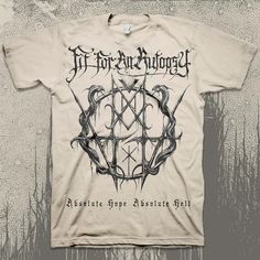f9aada0d Absolute Hope Absolute Hell Natural : : MerchNOW - Your Favorite Band Merch,  Music and