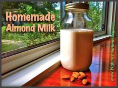 Just almonds and water, and you're on your way to smooth, creamy homemade almond milk and almond meal!