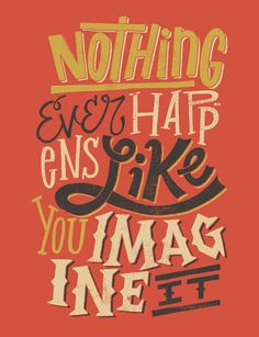 Creative Hand Drawn Typography by Jay Roeder
