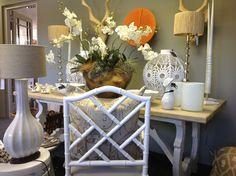 White,naturals and splash of colour at Nom de Plume studio Pietermaritzburg KZN