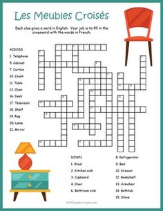 1000 images about crosswords for learning on pinterest for Miroir french to english