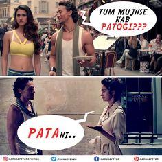 Iski toh LOL hogayi!   #TigerShroff #DishaPatani