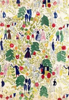 A Walk In The Woods Artwork by Raoul Dufy