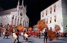 Balestro del Girifalco, May and August, Massa Marittima, Maremma, Tuscany, Italy