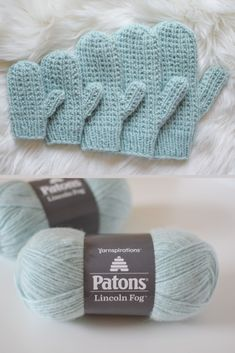 Broken Rib Knit Mittens – Free Pattern : Broken Rib Knit Mittens – free pattern from Knifty Knittings and Yarnspirations Häkelmützen Crochet Mittens Free Pattern, Crochet Gloves, Knit Mittens, Knit Or Crochet, Knitting Patterns Free, Crochet Patterns, Fingerless Mittens, Hat Patterns, Crochet Granny