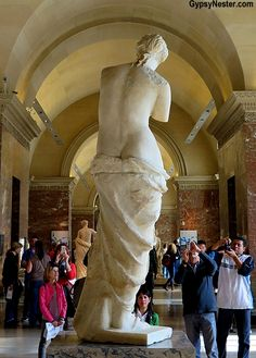 What Venus de Milo sees at the Louvre in Paris - See more: http://www.gypsynester.com/paris.htm
