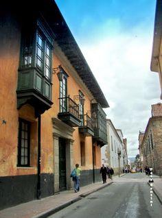 La Candelaria, Centro Histórico, Bogotá, Colombia.