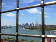 Lower Manhattan from Williamsburg Bridge