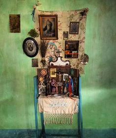"""Pe�a """"Orat�rio de Leonor"""" do artista Raimundo Rodriguez presente na novela """"Velho Chico"""" da Rede Globo."""