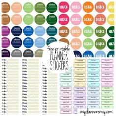 Free Planner Stickers are a great way to remember appointments,get together's,a party,a shower,and so much more.Download these printable stickers from self adhesive labels and your set.