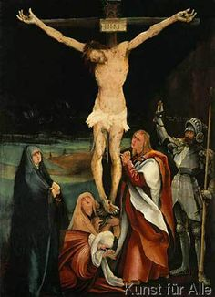 Mathis Gothart Grünewald - Die Kreuzigung Christi