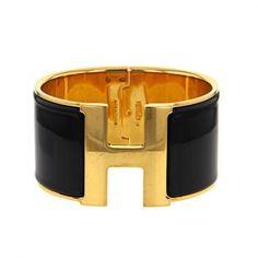 La maison de luxe herm s signe avec ce bracelet manchette un bijou aussi exce - Taille clic clac standard ...