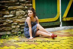 Senior Portraits, Wizard of Oz Senior Session, Wizard of Oz , A Hoot to Shoot Photography, NC Photographer