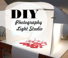 DIY Photography Light Studio Set Up
