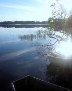 Summer Morning in Kivijärvi in Finland. #kivijaervi #Finland #summer